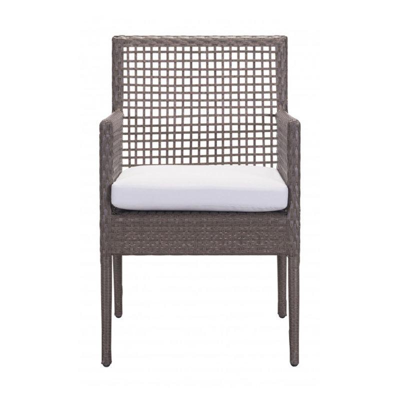 Zuo Modern Coronado Dining Chair Cocoa & Light Gray
