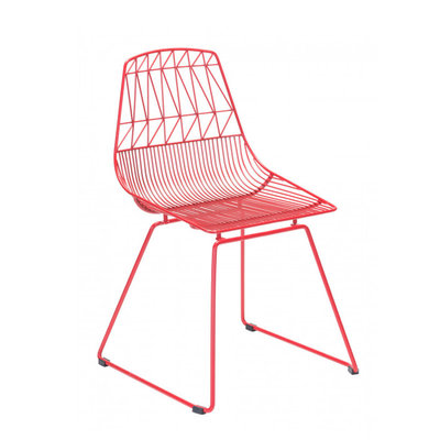 Zuo Modern Brody Dining Chair Red