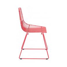 Zuo Modern Brody Dining Chair Red