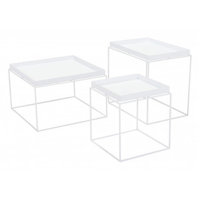 Zuo Modern Gaia Nesting Tables White