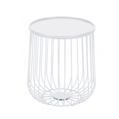 Zuo Modern Gilbert Side Table White