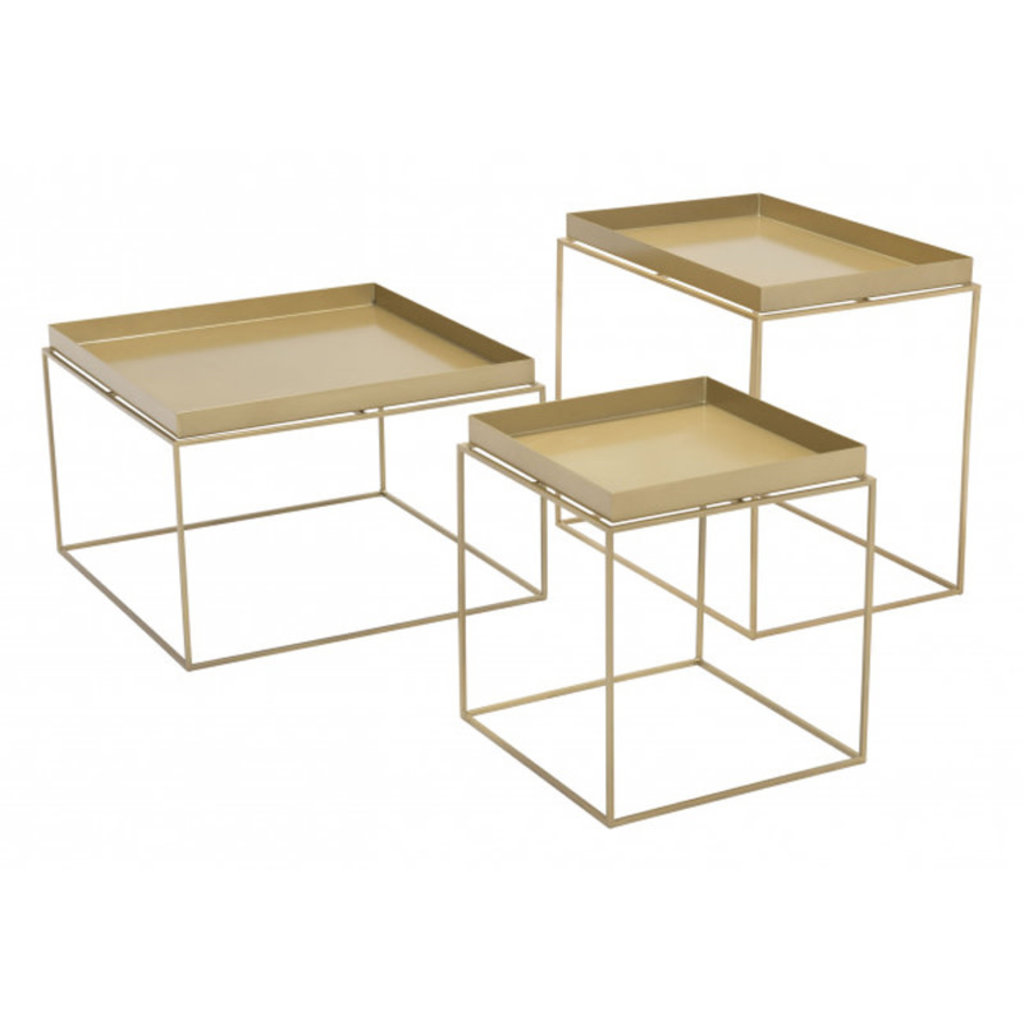 Zuo Modern Gaia Nesting Tables Gold