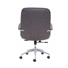 Zuo Modern Avenue Office Chair Vintage Gray