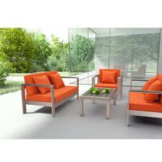Zuo Modern Cosmopolitan Sofa Frame B. Aluminum