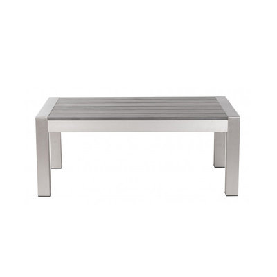 Zuo Modern Cosmopolitan Coffee Table B. Aluminum