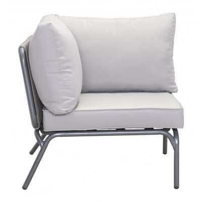 Zuo Modern Pier Corner Single Gray