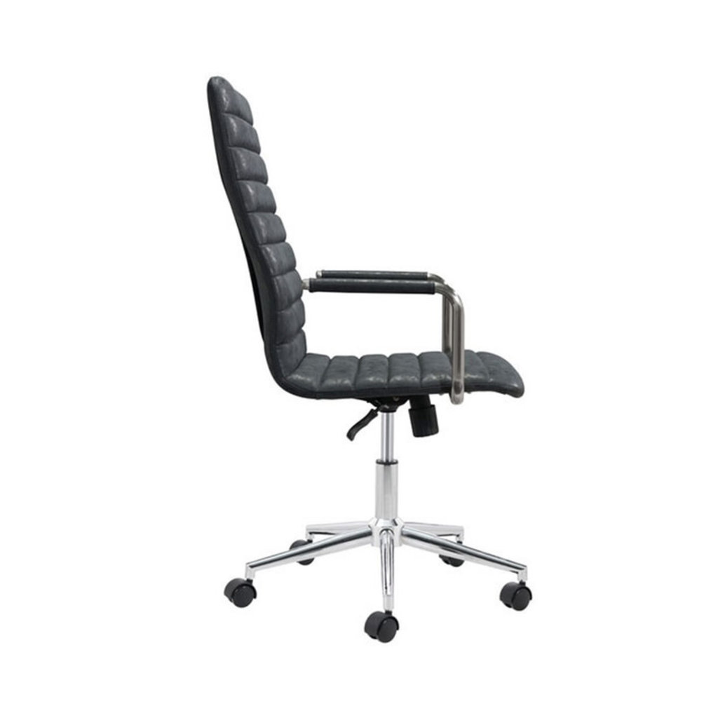 Zuo Modern Pivot Office Chair Vintage Black
