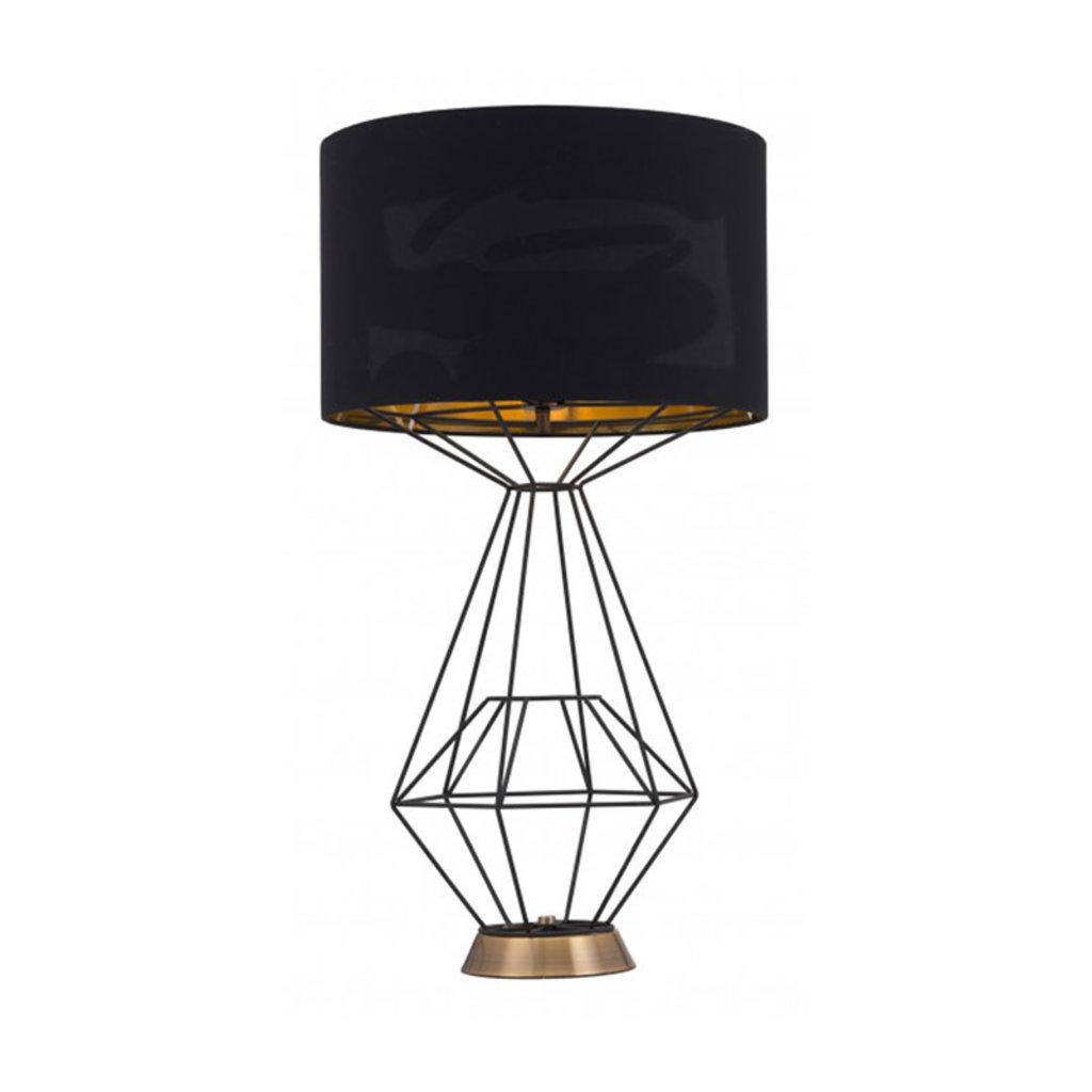 Zuo Modern Delancey Table Lamp Black