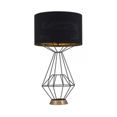 Zuo Modern Delancey Table Lamp Black