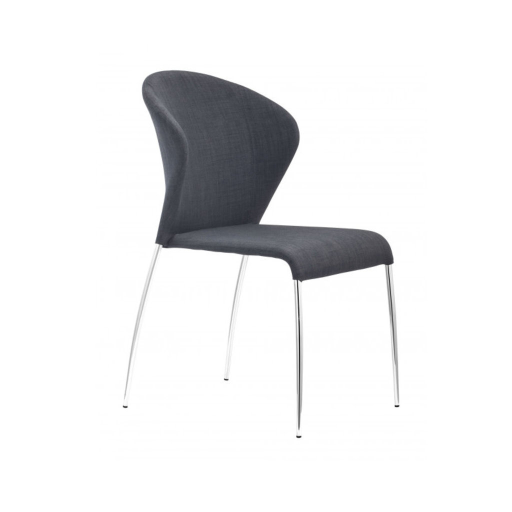 Zuo Modern Oulu Dining Chair Graphite