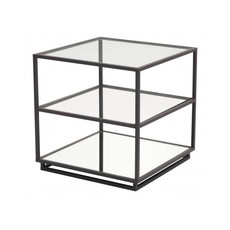 Zuo Modern Kure End Table Distressed Black