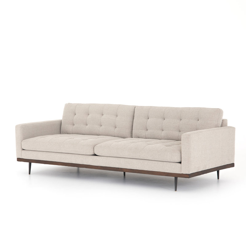 "Four Hands Lexi Sofa-89""-Perpetual Pewter"