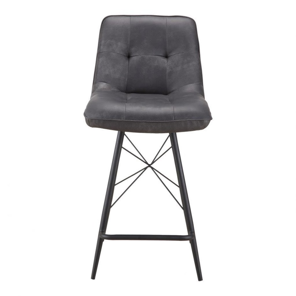 Moe's Home Collection Morrison Counter Stool Black