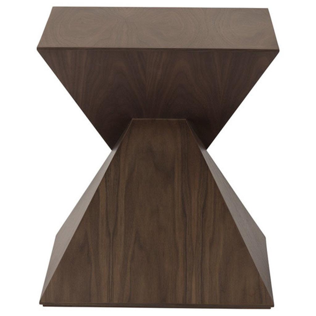 Nuevo Living Giza Table Side Walnut