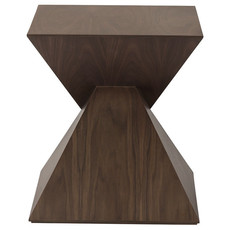 Nuevo Living Giza Table Side Walnut