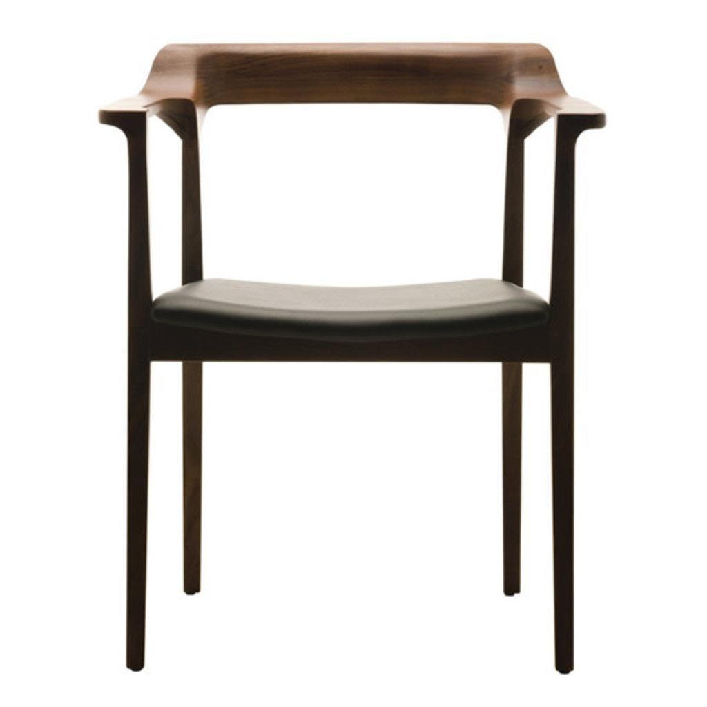 Nuevo Living Caitlan Chair Dining Walnut