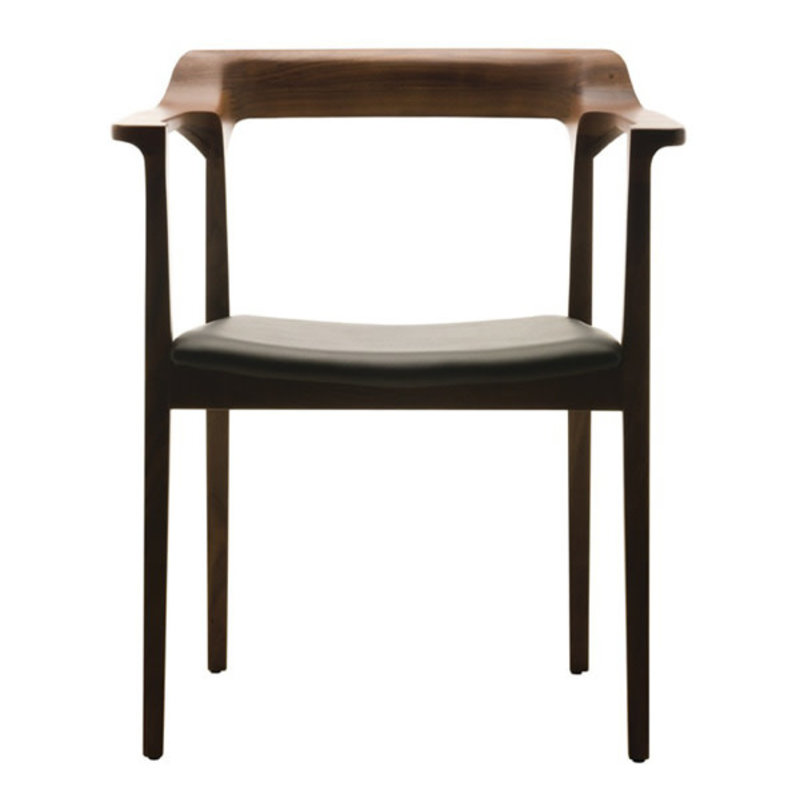 Nuevo Living Caitlan Chair Dining Walnut