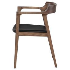 Nuevo Living Caitlan Dining Chair Walnut