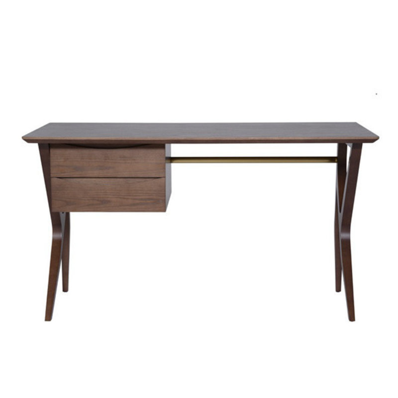 Nuevo Living Karlo Table Desk Walnut