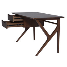 Nuevo Living Karlo Table Desk Walnut