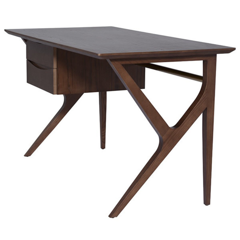 Nuevo Living Karlo Desk Walnut