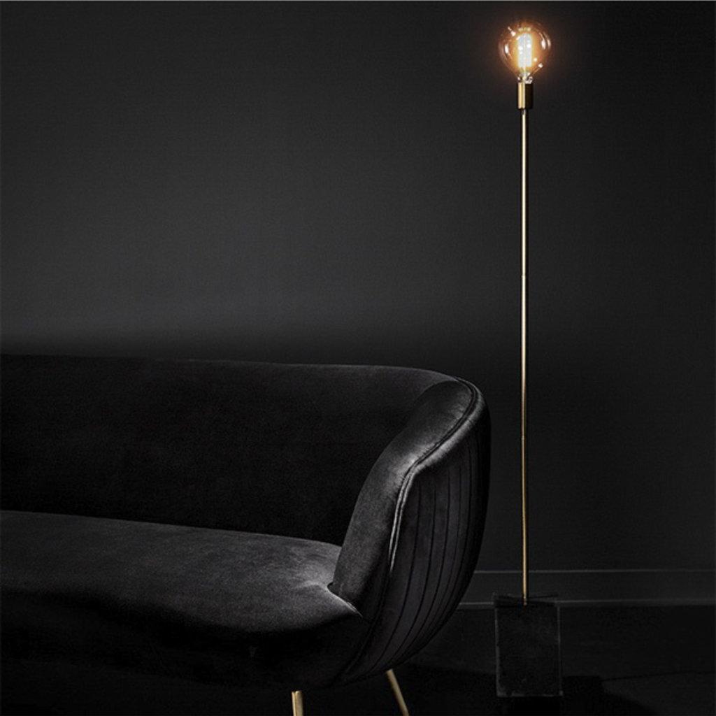 Nuevo Living Slim Lighting Floor Gold/Black