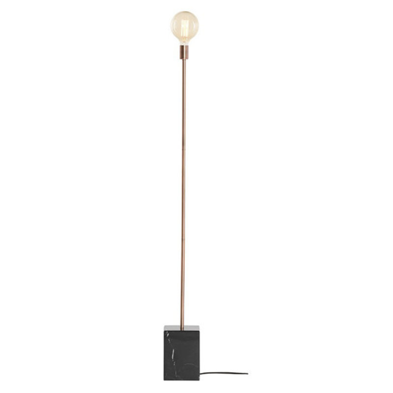 Nuevo Living Slim Lighting Floor Copper/Black