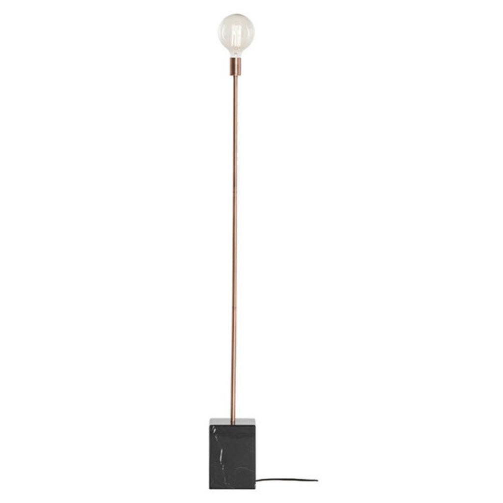 Nuevo Living Slim Lighting Floor Copper/Black