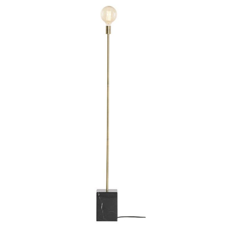 Nuevo Living Slim Lighting Floor Brass/Black