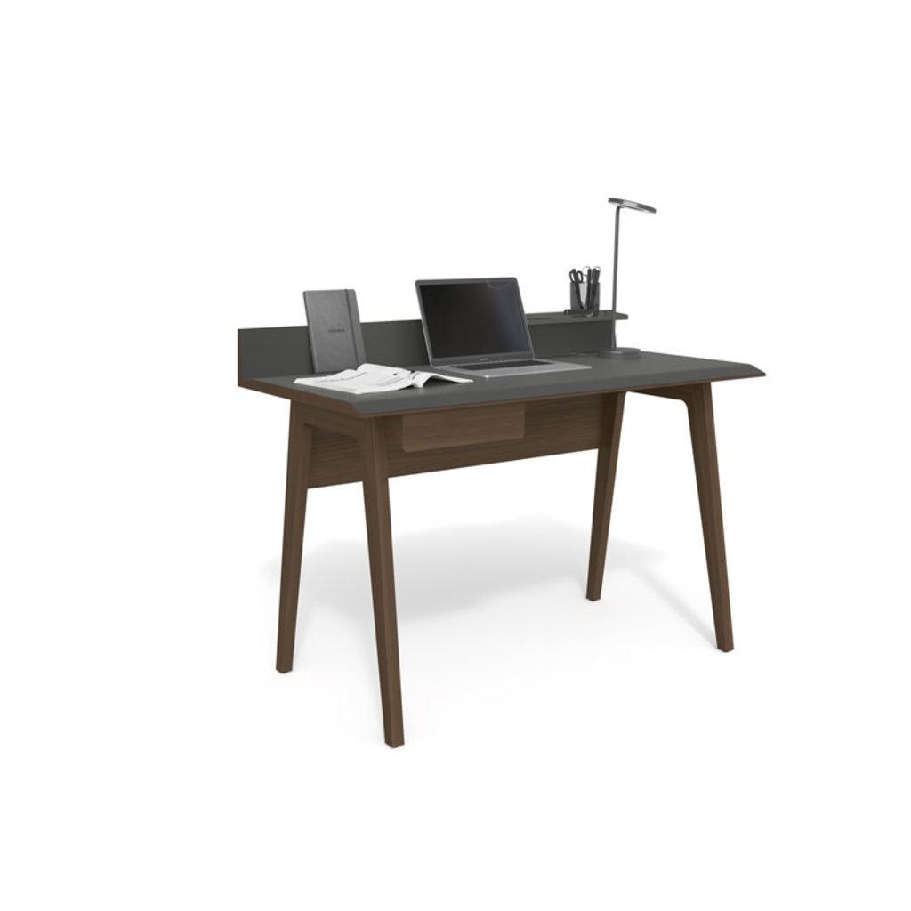 BDI Bevel Toasted Walnut Desk