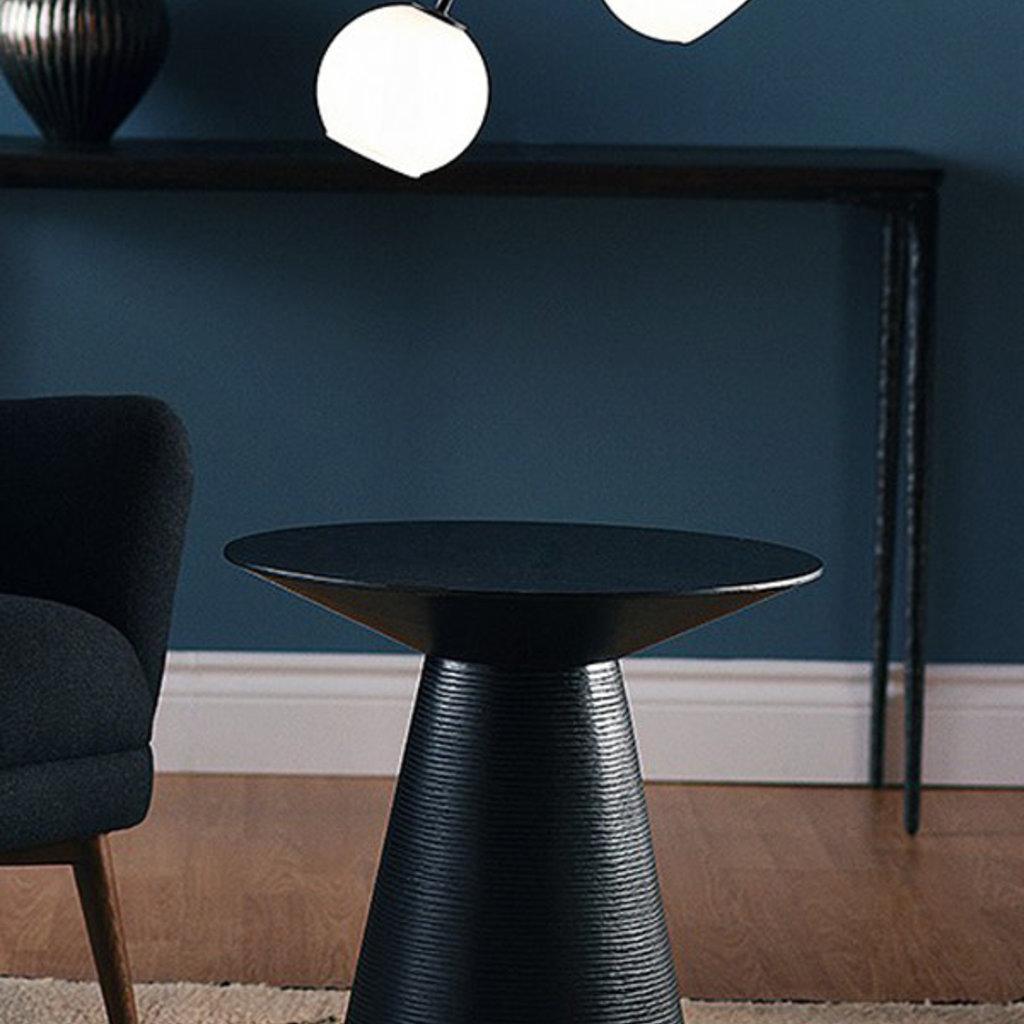 Nuevo Living Anika Side Table  Black
