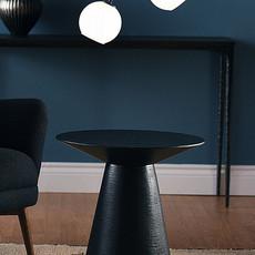 Nuevo Living Anika Table Side  Black