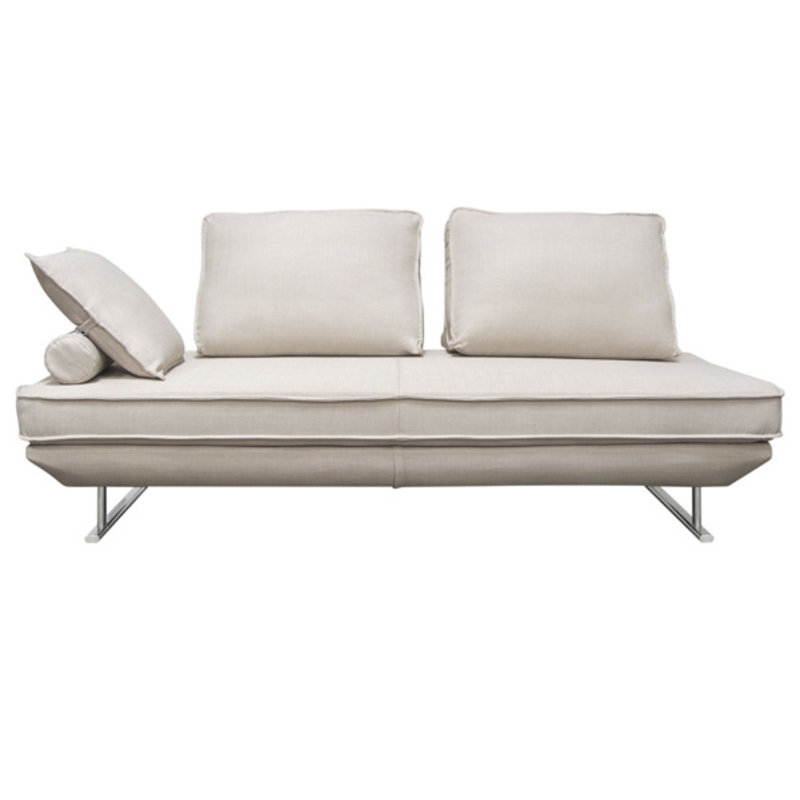 Diamond Sofa Dolce lounger Sand Fabric