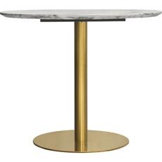 Diamond Sofa Stella Dining Table Brushed Gold