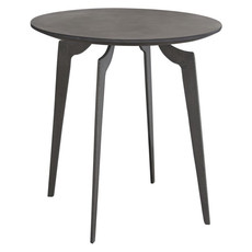 Diamond Sofa Eclipse End Table Iron Finish