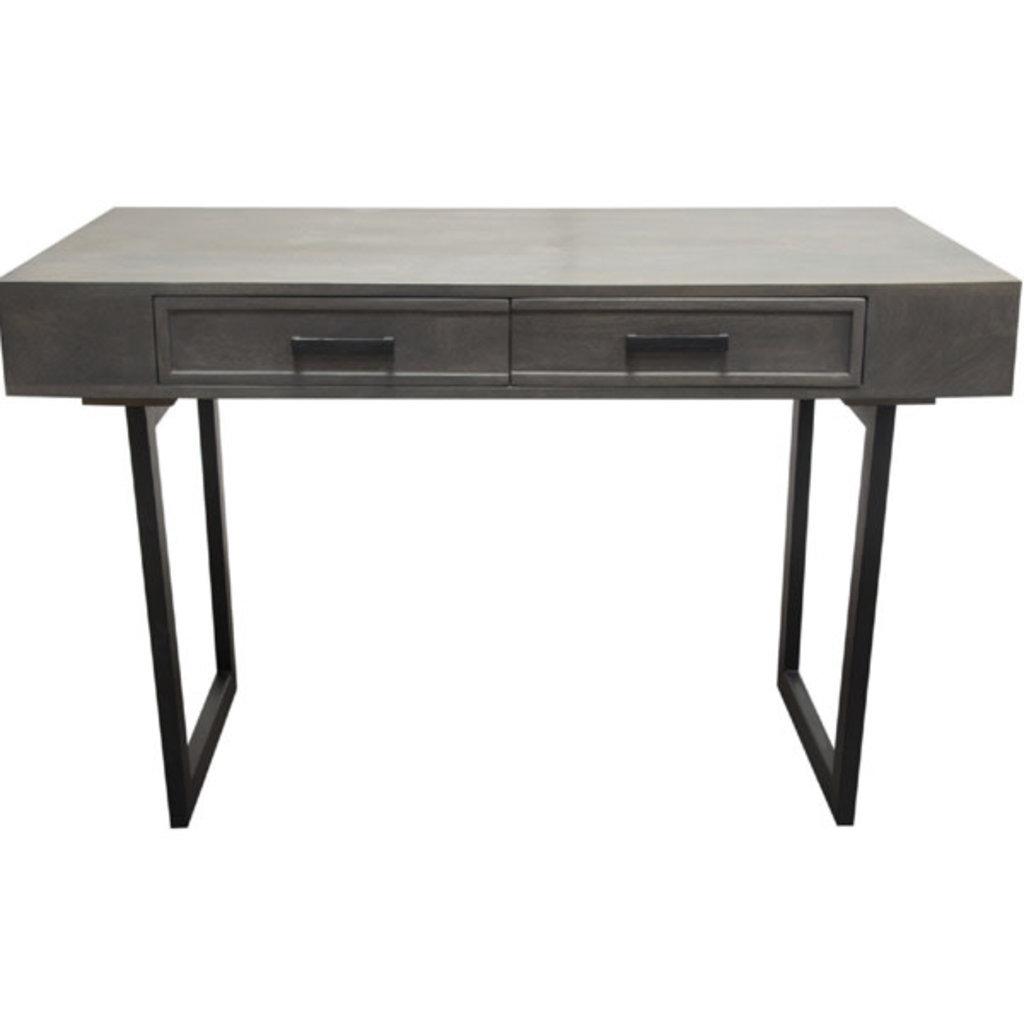 Diamond Sofa Hammond 2 Drawer Desk
