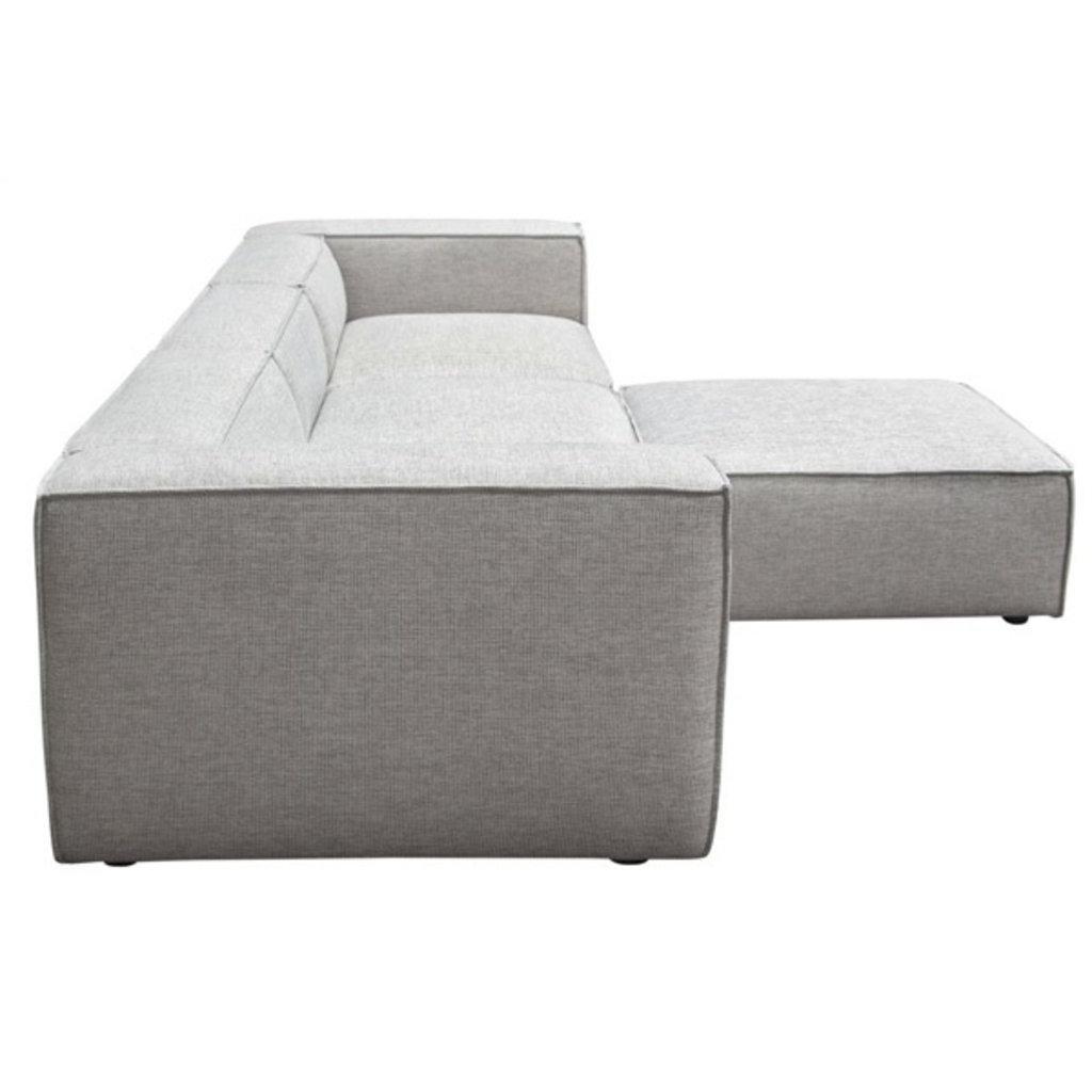 Diamond Sofa Vice 4 pcs sectional Barley Fabric