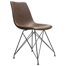 Diamond Sofa Theo Dining Chair Chocolate PU