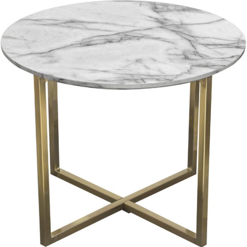Diamond Sofa Vida End Table Faux Marble