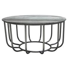 Diamond Sofa Greco Coffee Table Grey Marble