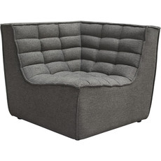 Diamond Sofa Marshall Grey Fabric Scoop Sq Corner