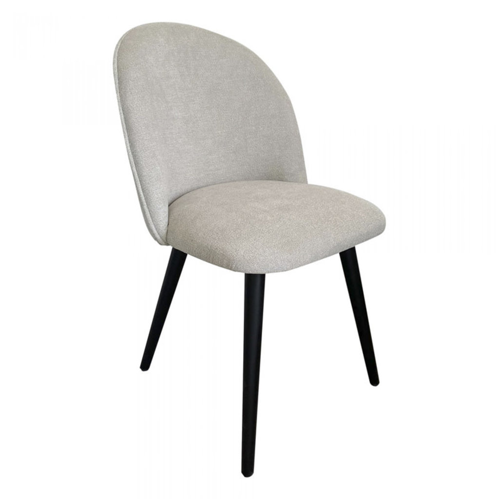 Moe's Home Collection Clarissa Dining Chair Light Grey M-2