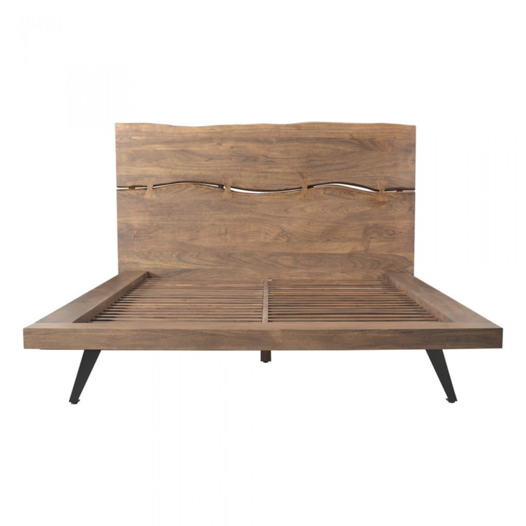 Moe's Home Collection Madagascar Platform Bed Queen