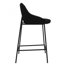 Moe's Home Collection Shelby Counterstool Black