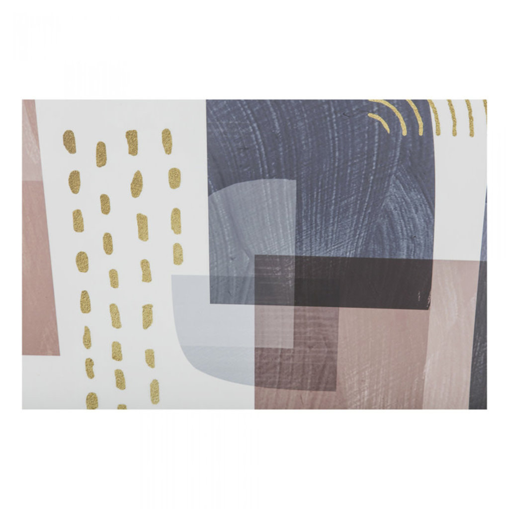 Moe's Home Collection Spirited Abstract Print