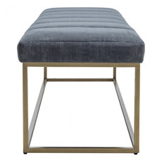 Moe's Home Collection Katie Bench Grey