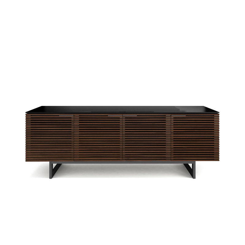 BDI Corridor Multi Function Cabinet Chocolate Stained Walnut