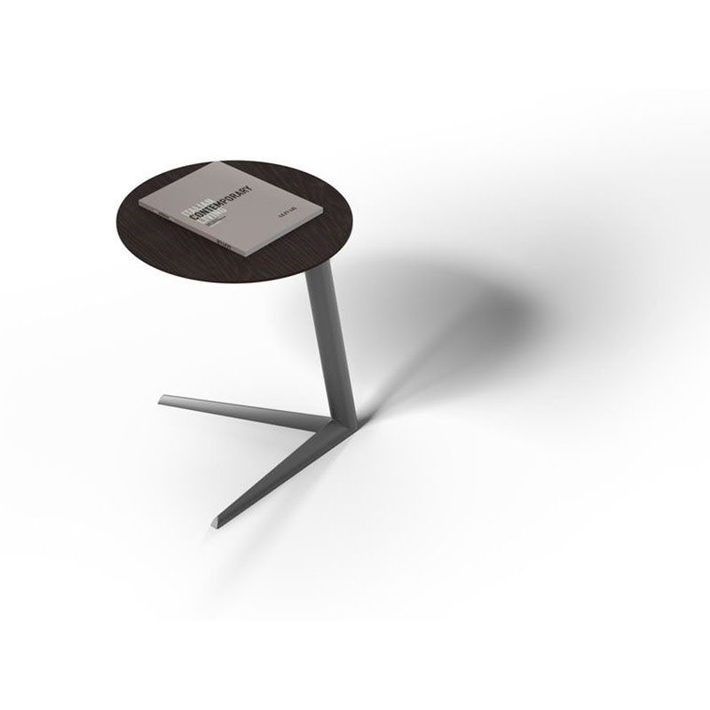 BDI Milo  Laptop Table Charcoal