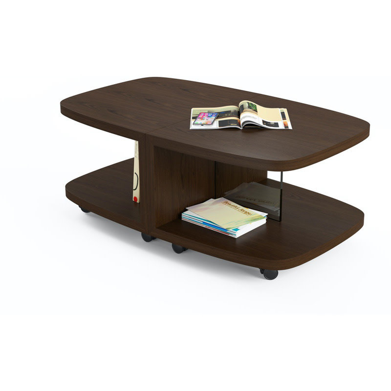 BDI Muv Coffee Table Toasted Walnut