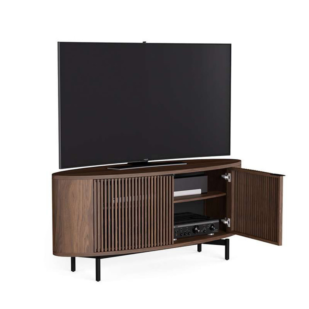 BDI Olis Cabinet Toasted Walnut Double Wide